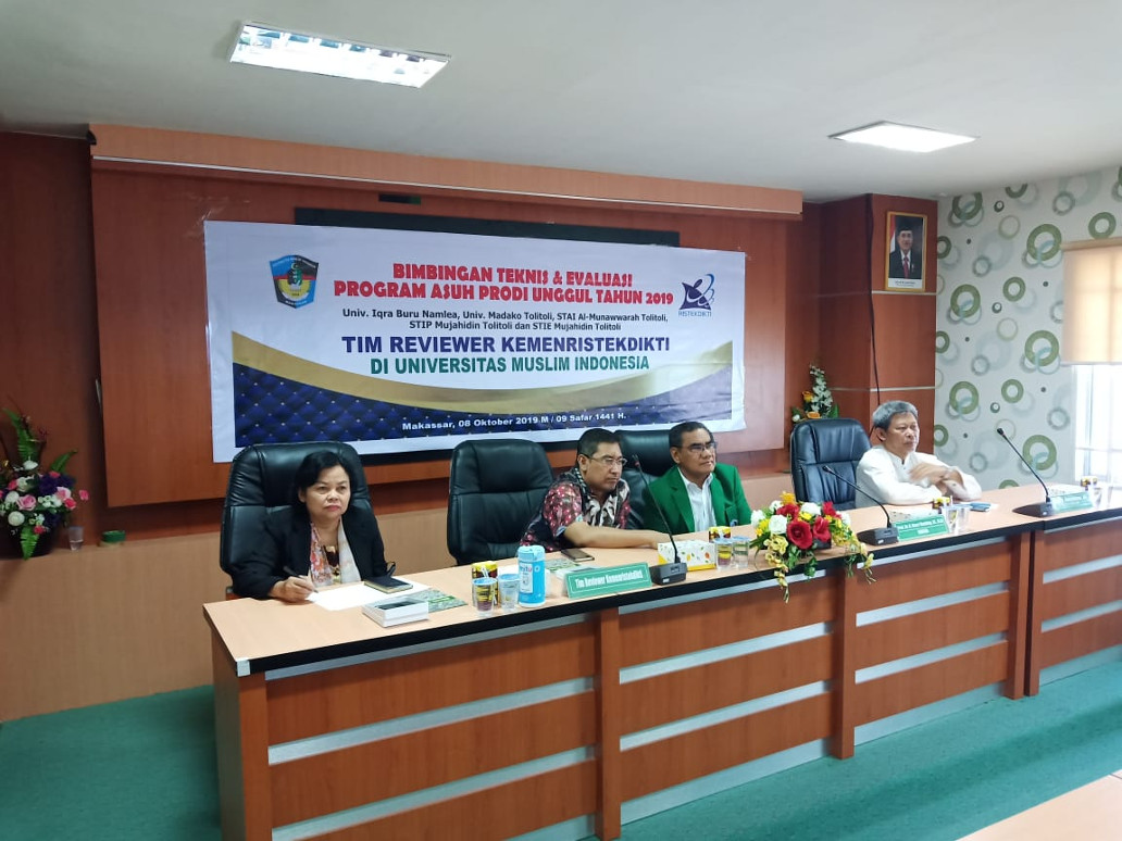 Bimtek dan Monev Program Asuh Prodi Unggul 2019
