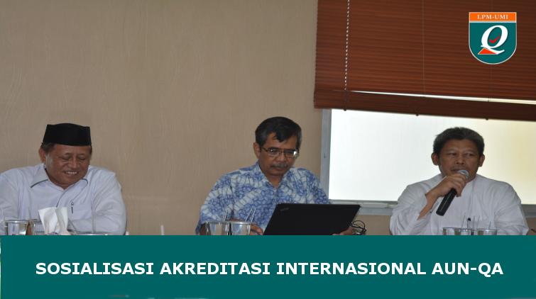 UMI Siapkan Diri menuju Akreditasi Internasional (AUN-QA)