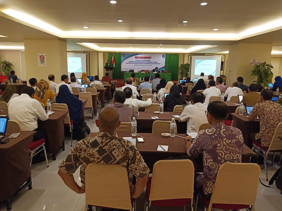Workshop Penyusunan Dokumen Sistem Penjaminan Mutu Internal (SPMI) UMI 2019