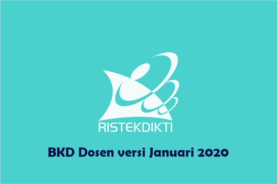 Aplikasi BKD Versi Januari 2020