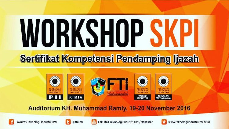 Workshop SKPI FTI UMI