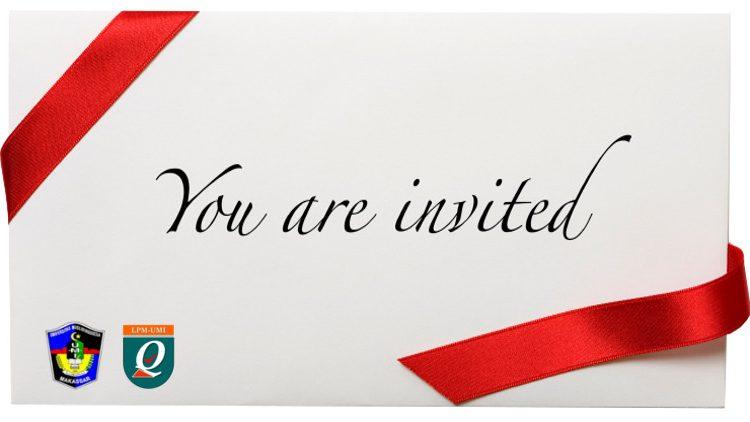 Undangan Rapat PSMF/P, Prodi dan Auditor Internal