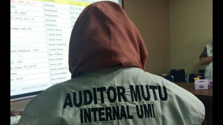 Auditor Mutu Internal UMI 2017