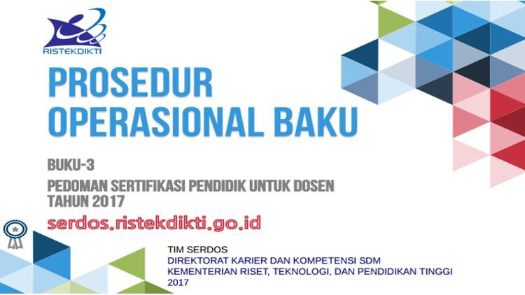 Materi Sosialisasi Serdos 2017 di Hotel Grand Inna, Kuta, Bali taggal 15-16 April 2017