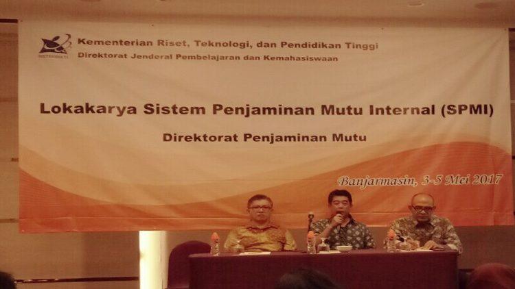 Lokakarya Sistem Penjaminan Mutu Intenal (SPMI) 2017