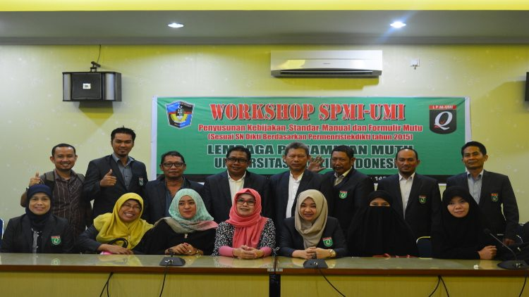 Dokumentasi Workshop SPMI 2017